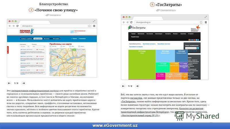 11 www.eGovernment.uz