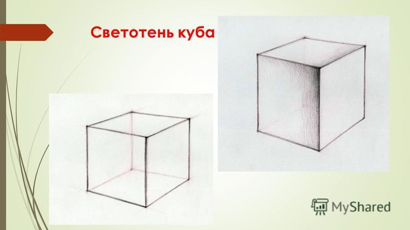 Светотень куба