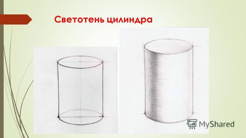 Светотень цилиндра