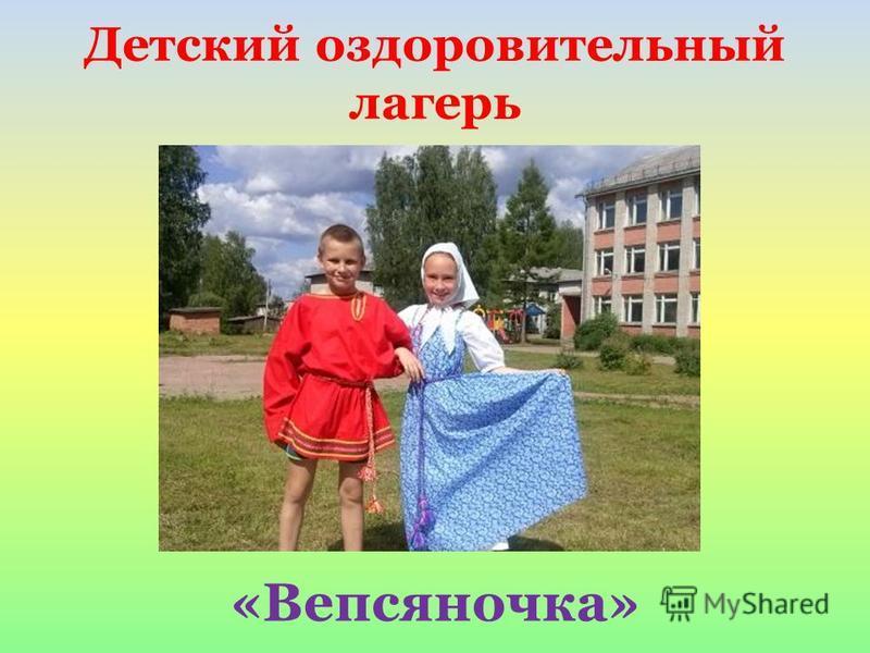 Детский оздоровительный лагерь «Вепсяночка»