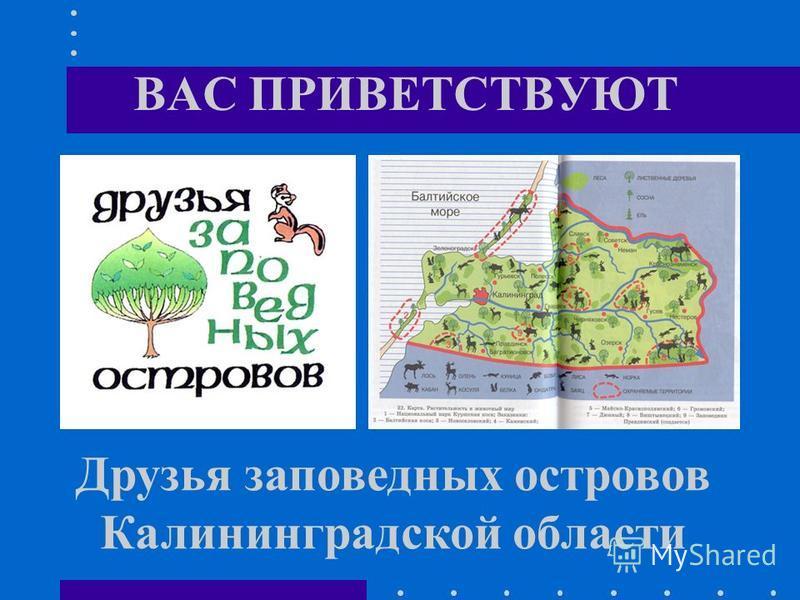ВАС ПРИВЕТСТВУЮТ Друзья заповедных островов Калининградской области