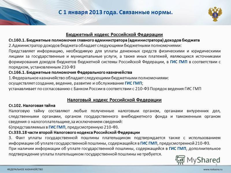 С 1 января 2013 года. Связанные нормы. Бюджетный кодекс Российской Федерации Ст.160.1. Бюджетные полномочия главного администратора (администратора) доходов бюджета 2. Администратор доходов бюджета обладает следующими бюджетными полномочиями: Предста