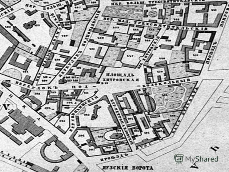Карта Хитровки