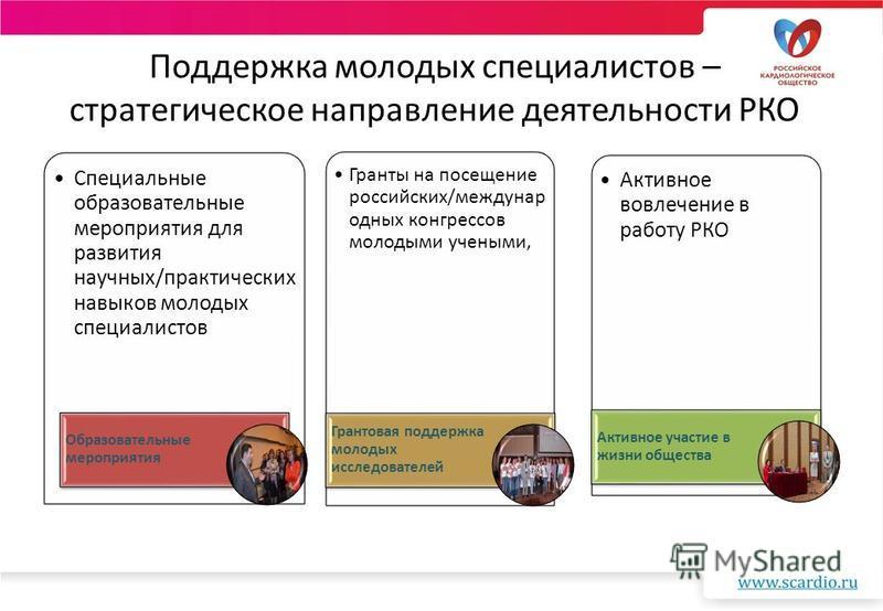 Поддержка молодых специалистов – стратегическое направление деятельности РКО