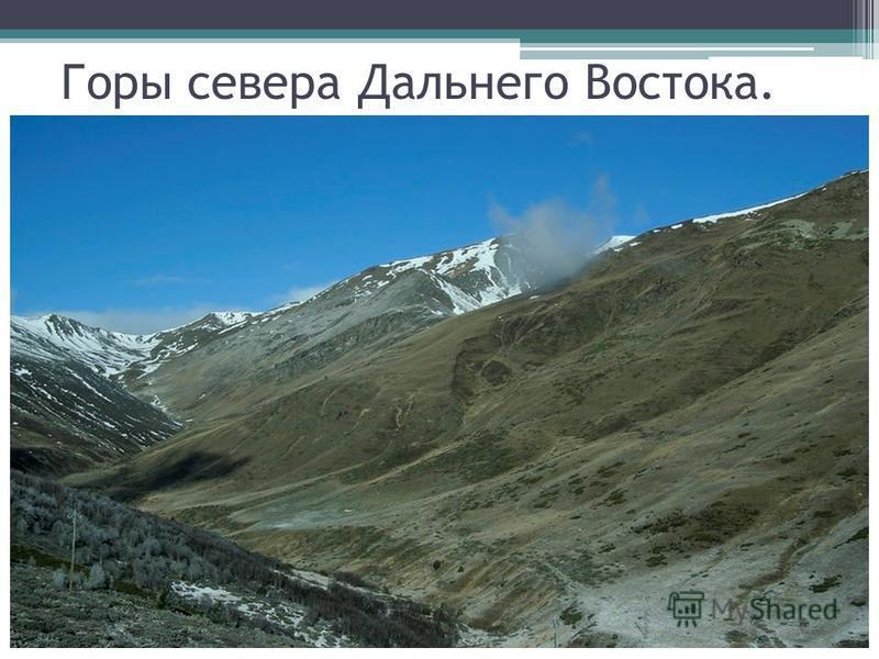 Горы севера Дальнего Востока.