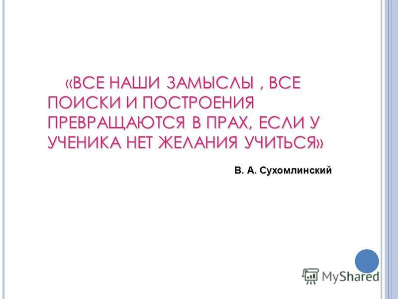Л ЕКЦИЯ 4 МОТИВЫ УЧЕНИЯ