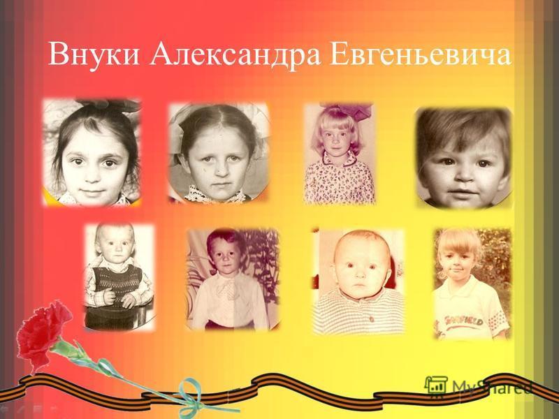 Внуки Александра Евгеньевича