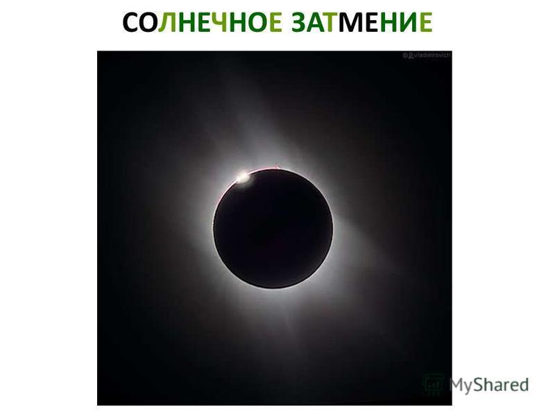 СОЛНЕЧНОЕ ЗАТМЕНИЕ Солнечное затмение.