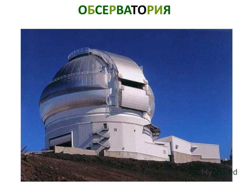 ОБСЕРВАТОРИЯ Обсерватория.