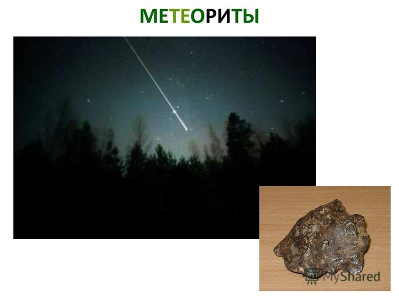 МЕТЕОРИТЫ Метеориты.