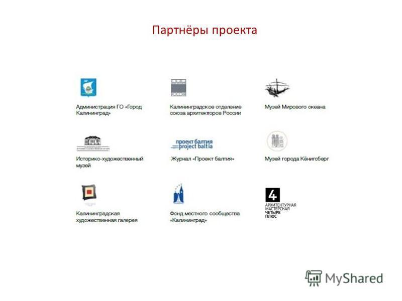Партнёры проекта