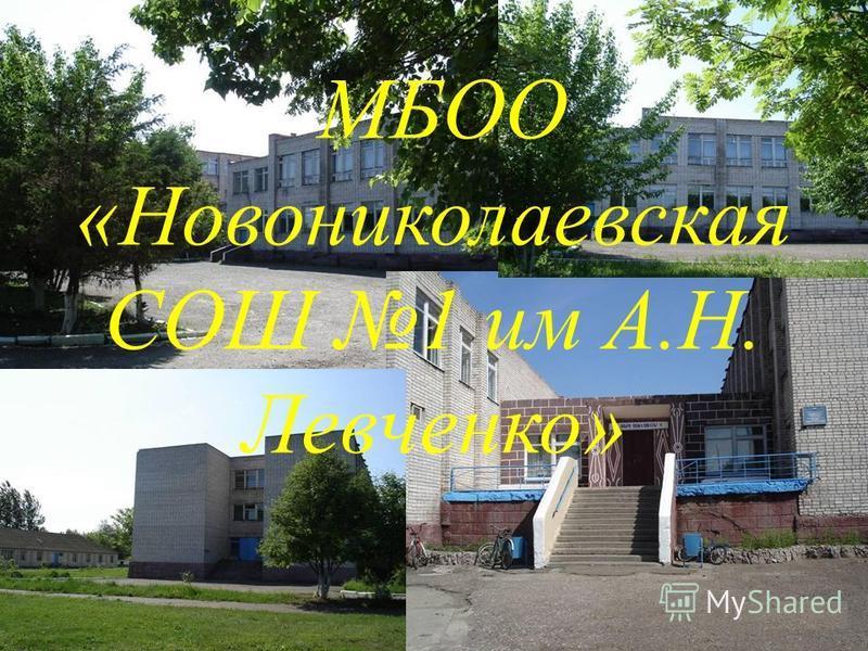 МБОО «Новониколаевская СОШ 1 им А.Н. Левченко»