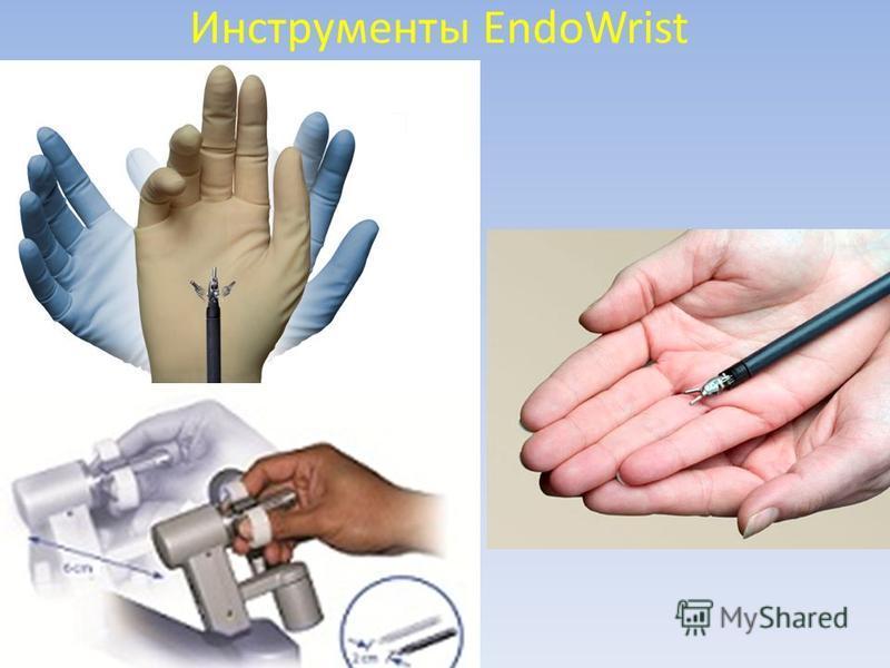 Инструменты EndoWrist