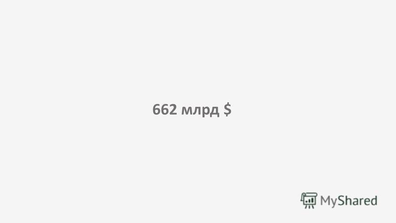 662 млрд $