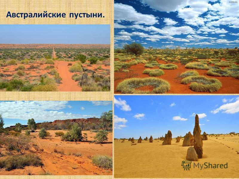 Австралийские пустыни.