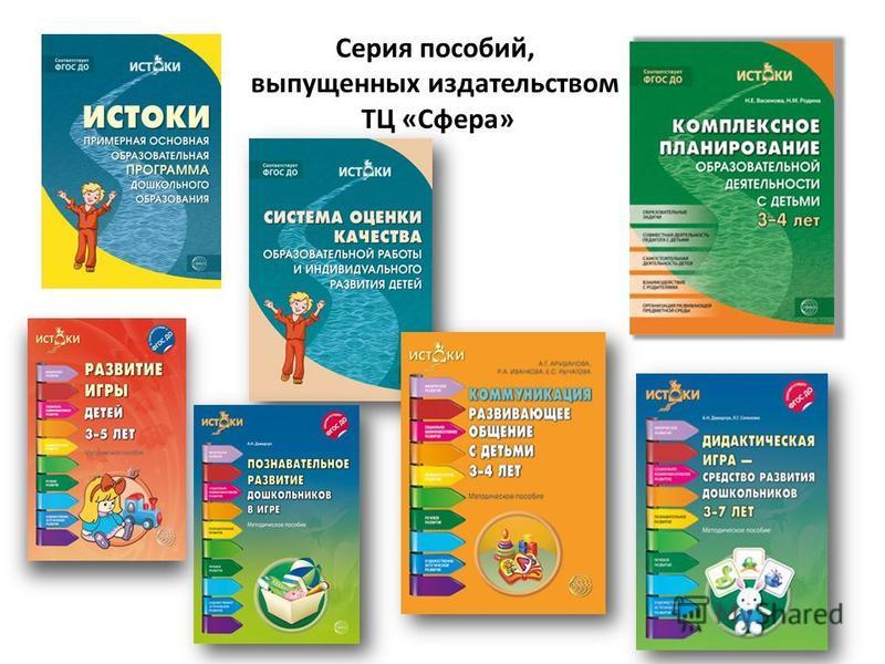 Серия пособий, выпущенных издательством ТЦ «Сфера»
