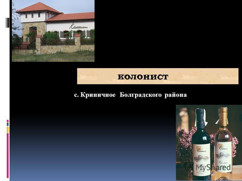 с. Криничное Болградского района