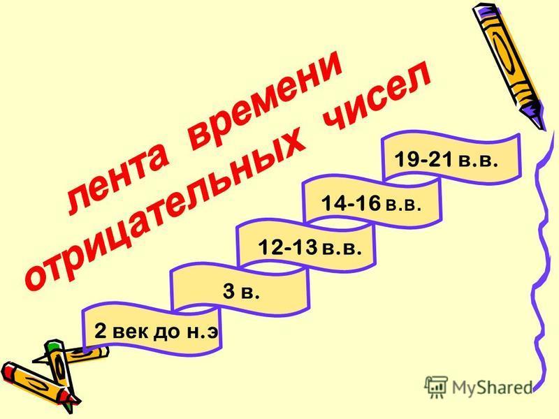 12-13 в. в. 14-16 в.в. 19-21 в. в. 3 в. 2 век до н. э