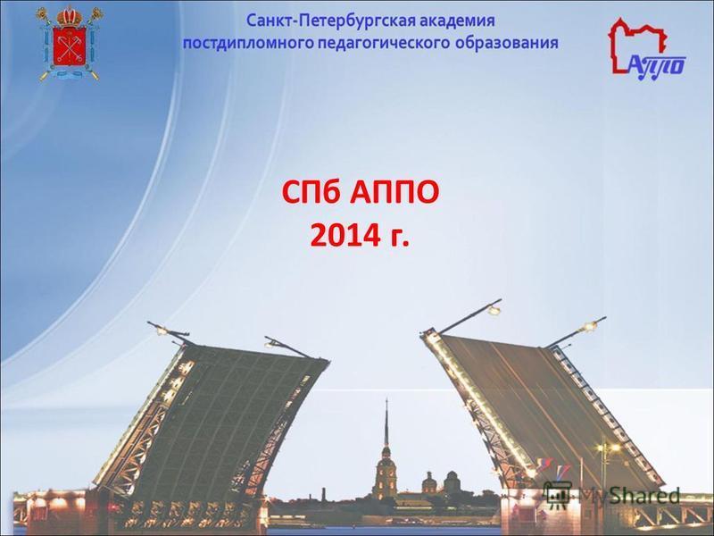СПб АППО 2014 г.