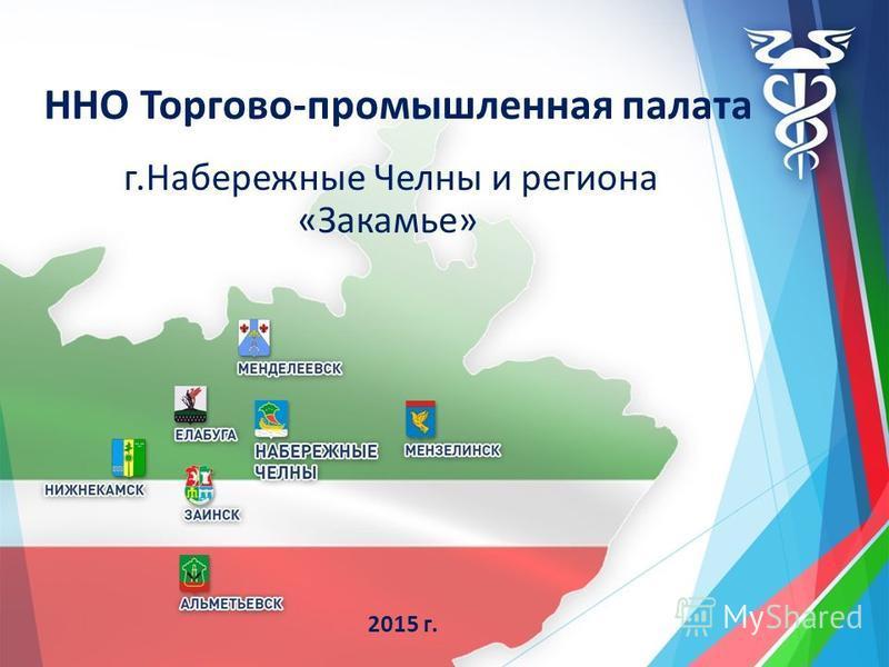 ННО Торгово-промышленная палата г.Набережные Челны и региона «Закамье» 2015 г.