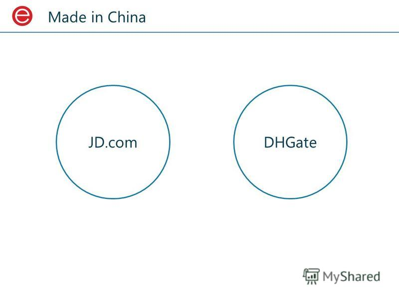 Made in China JD.com DHGate