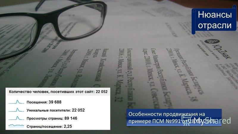 ПСМ N991 от 28.07.2009 О некоторых вопросах приобретения товаров на территории Республики Беларусь Нюансы отрасли Особенности продвижения на примере ПСМ 991 от 28.07.2009