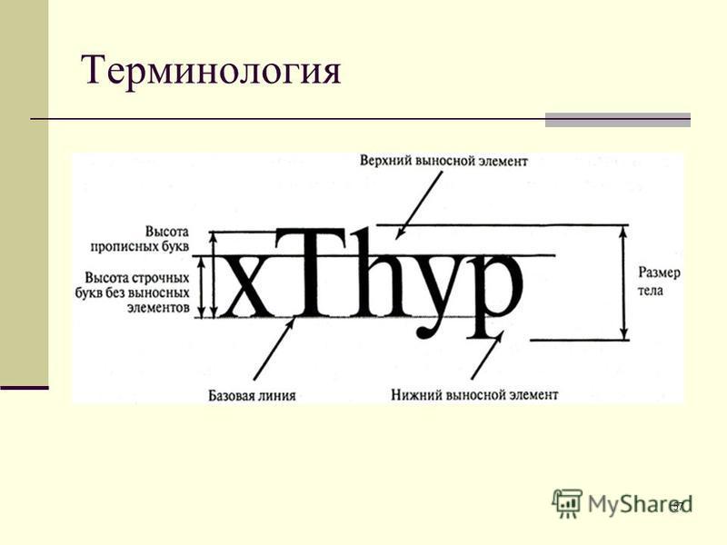 57 Терминология