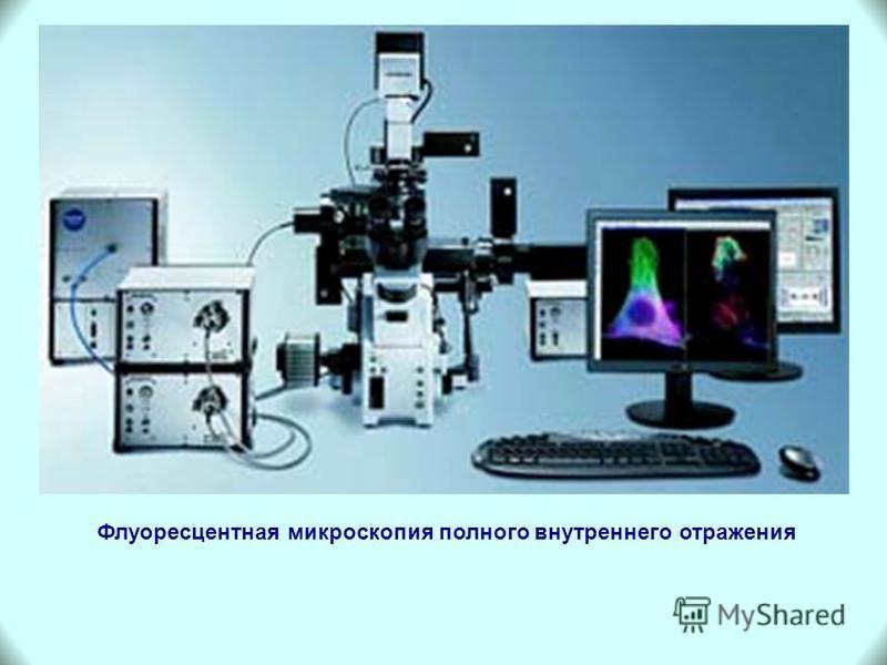 Флуоресцентная микроскопия полного внутреннего отражения