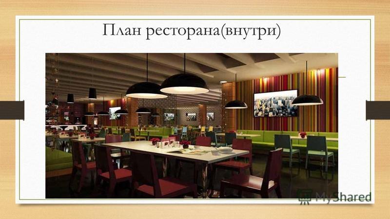 План ресторанана(внутри)