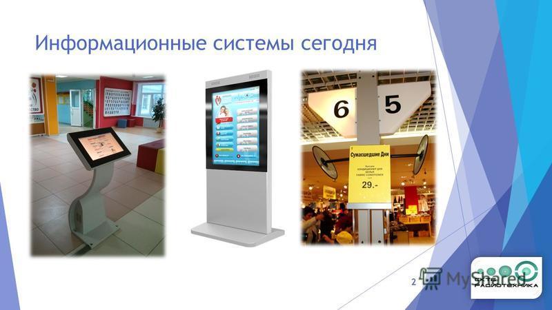 Информационные системы сегодня 2