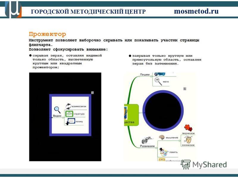 ГОРОДСКОЙ МЕТОДИЧЕСКИЙ ЦЕНТР mosmetod.ru file:///C:/Users/karanovamg.GMC/Downloads/ rukovodsvo_ActivInspire(rus)%20(1).pdf