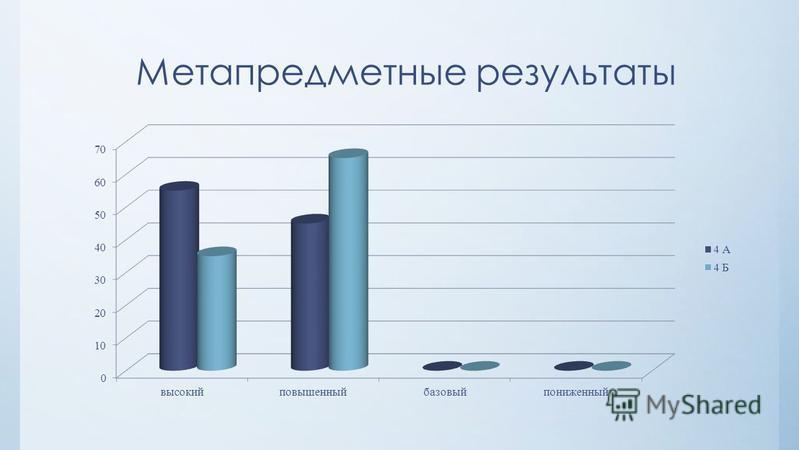 Метапредметные результаты