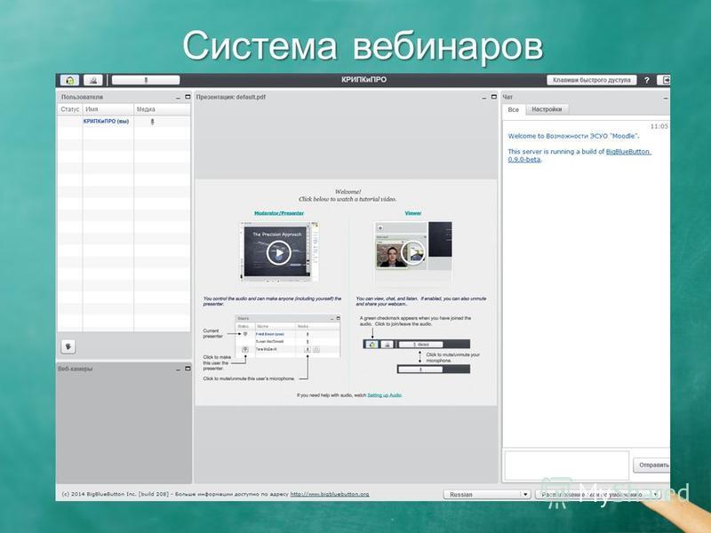 Система вебинаров