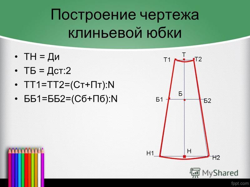 Как сделать чертежи юбок 438