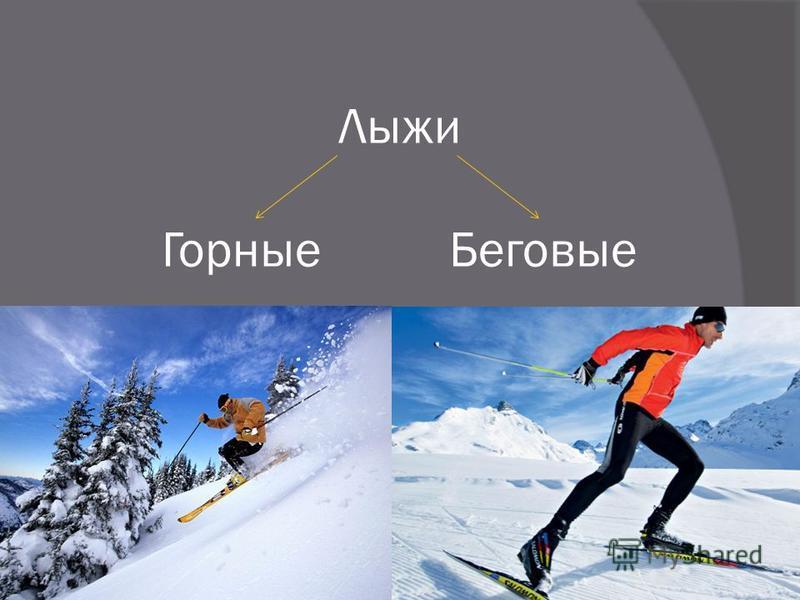 Лыже Горные Беговые