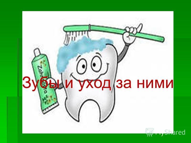 Зубы и уход за ними