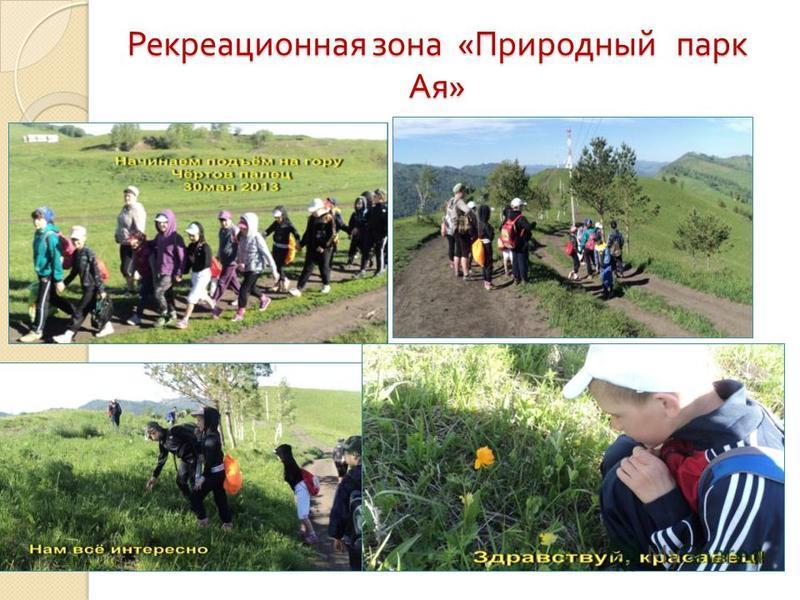 Рекреационная зона « Природный парк Ая »