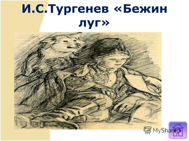 И.С.Тургенев «Бежин луг»