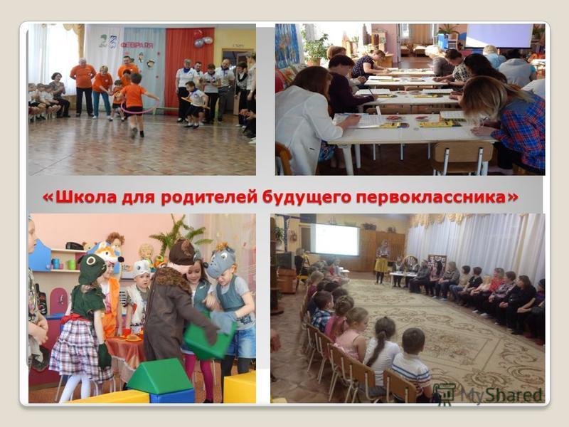 «Школа для родителей будущего первоклассника»