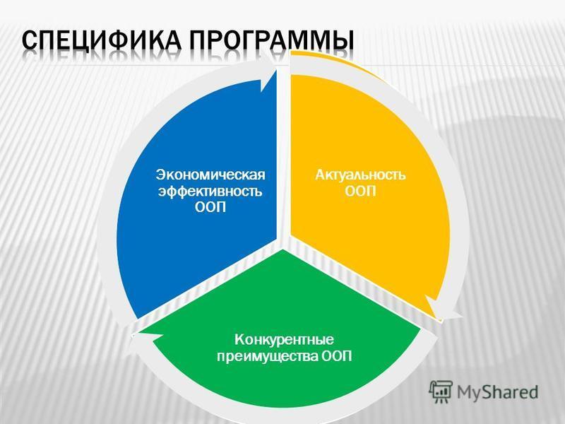 Актуальность ООП Конкурентные преимущества ООП Экономическая эффективность ООП