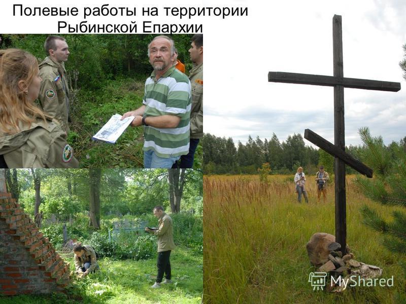 Полевые работы на территории Рыбинской Епархии