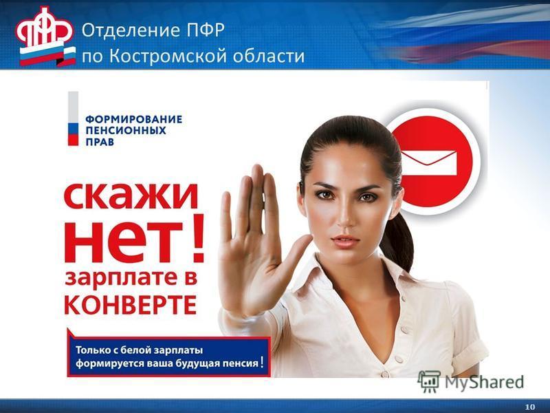 10 Отделение ПФР по Костромской области