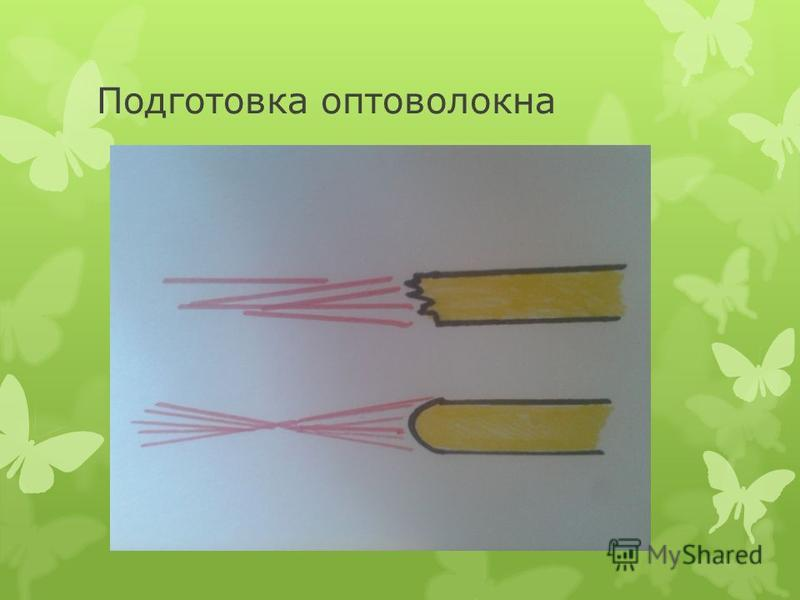 Подготовка оптоволокна