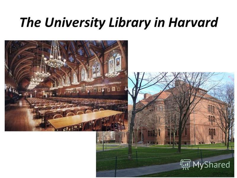 The University Library in Harvard