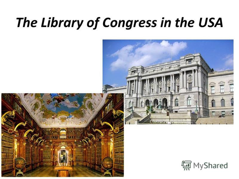 The Library of Congress in the USA