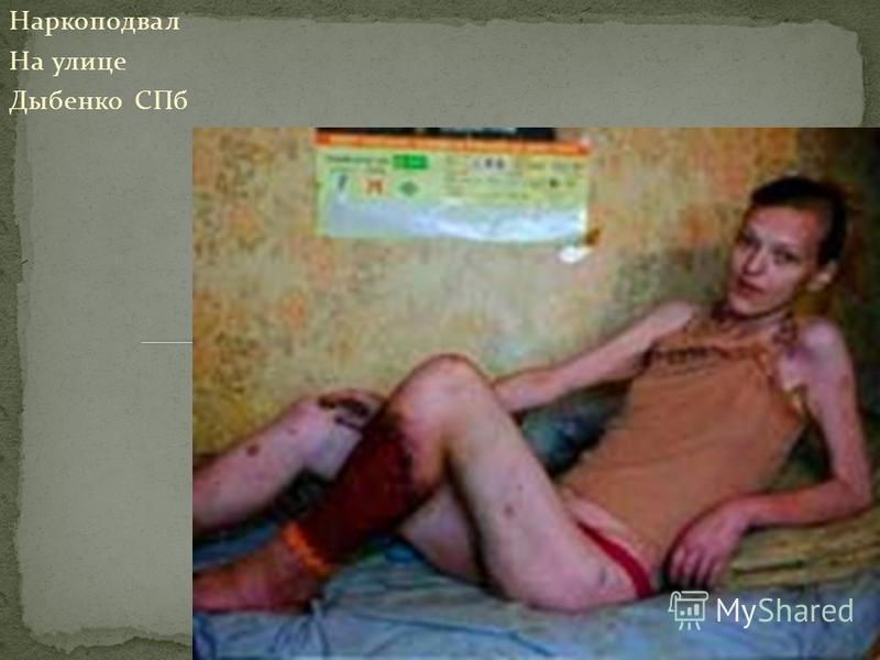 Наркоподвал На улице Дыбенко СПб