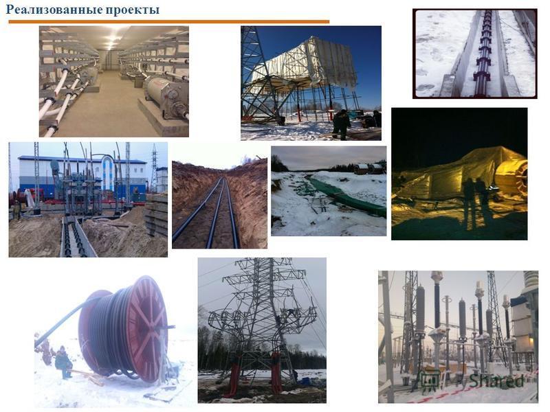 Реализованные проекты 18