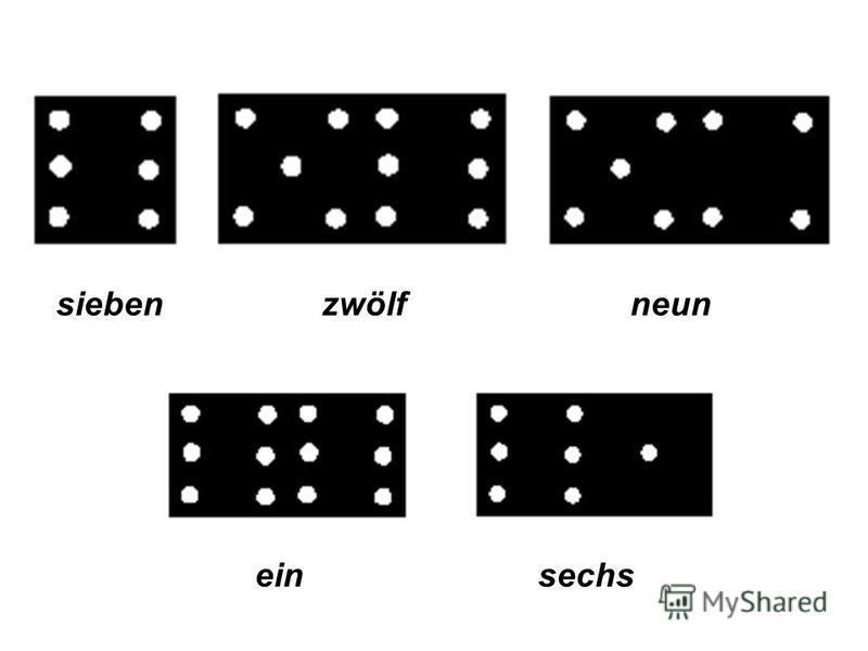 Übung 5. Richtig oder falsch? zwei Aber das ist nicht zwei. Das ist drei. zehn acht elf zwei vier fünf drei