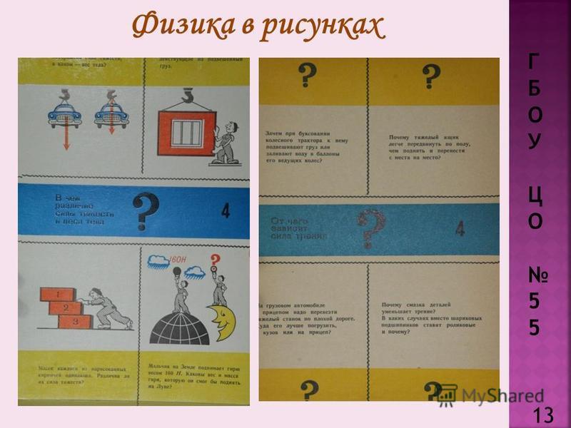 Г Б О У Ц О 5 Физика в рисунках 13