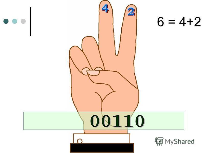 6 = 4+2